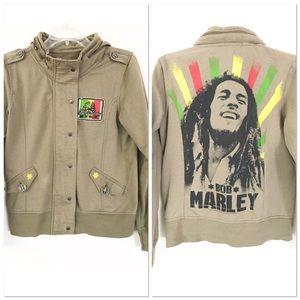 Bob Marley Military Juniors Jacket